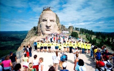 Top 3 reasons to take on the Crazy Horse Volksmarch