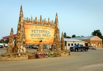 Petrified Wood Park & Museum