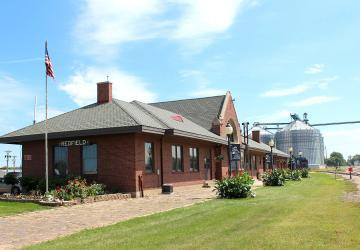 Chicago and NorthWestern Historic Railroad Depot