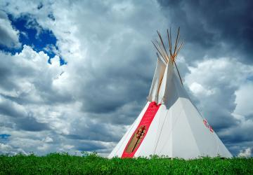 Oglala Lakota Living History Village
