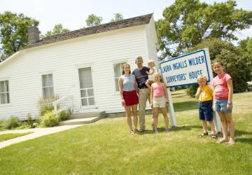 Laura Ingalls Wilder Historic Homes