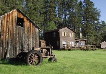 Camp Custer Log Cabins