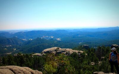 Hiking Old Baldy Mountain, Black Hills National Forest, SD